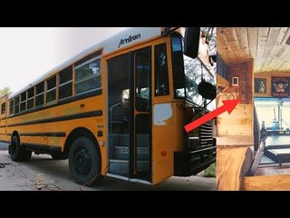 It Looks Like A School Bus, But One Glance Inside Will Take Your Breath Away