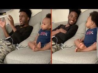 Esta conversa entre um pai e seu bebê é simplesmente adorável!
