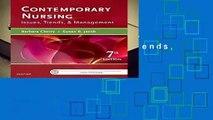 [FREE] Contemporary Nursing: Issues, Trends,   Management, 7e