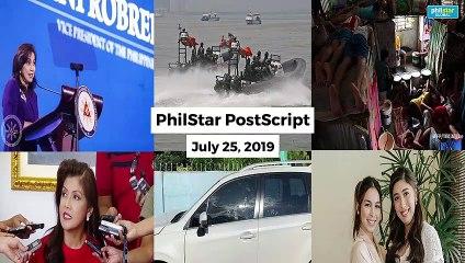 Postscript July 25, 2019