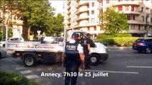 Annecy : avec la circulation alternée, on ne passe plus !
