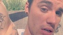 Justin Bieber reveals new eyebrow piercing