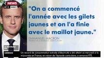 Macron : Du gilet jaune au maillot jaune ! - ZAPPING ACTU DU 25/07/2019