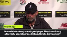 (Subtitled) 'It's not nice' Klopp on Bruno Fernandes going to Manu