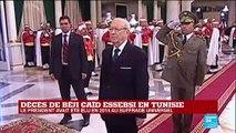 """Décès Béji Caïd Essebsi : """"C'était une figure politique importante qui a rassuré la Tunisie"""""""