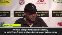 (Subtitled) 'No one talk to me about UCL trophy anymore' - Klopp wants focus on future