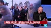 """TUNISIE - Décès de Béji Caïd Essebsi : """"beaucoup de Tunisiens le compare à Bourguiba"""""""