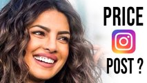 Priyanka Chopra Charges A Whopping Amount For One Instagram Post