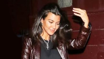 Kourtney Kardashian Considered Moving to Italy During the California Wildfires!