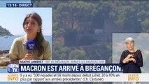Emmanuel Macron est arrivé au fort de Brégançon pour ses vacances
