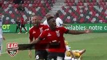 J1 Domino's Ligue 2  2019-2020  EAG-Grenoble 3-3 les 3 buts Guingampais