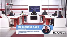 Moussa Sarr : nous contestons l'infraction qu'on veut imputer a Guy Marius Sagna