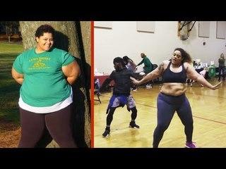 Avec 70kg en moins, elle fait le buzz en dansant !