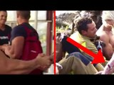 Les pompiers trouvent des façons inhabituelles de recueillir des fonds pour une bonne cause.