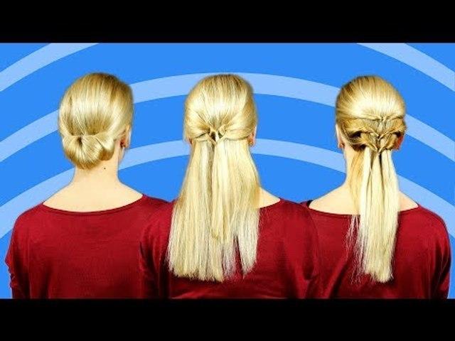9 penteados rápidos para cabelo fino