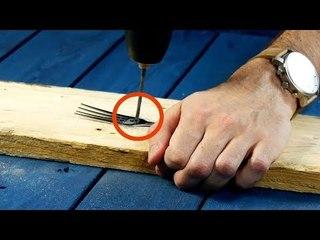 É por isso que você deve guardar garfos velhos. Que bom que são reutilizáveis!