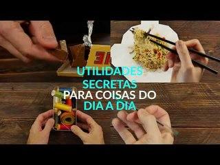 Estes 11 segredos se escondem em objetos do dia a dia. O nº 9 é pura engenhosidade!