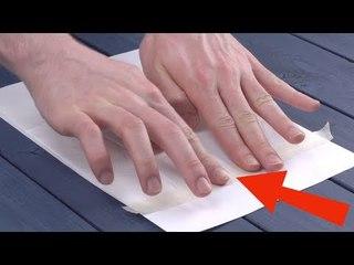 Cole o lenço no papel e coloque na impressora. Estas dicas são maravilhosas!