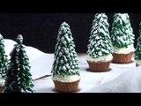 Cupcakes sapins de Noël : des créations originales pour égayer la table.