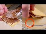 Étalez le Nutella sur le biscuit et trempez-le dans ce liquide. Un rêve devient réalité.