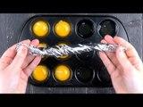 Voilà pourquoi vous devez séparer six œufs crus dans le moule à muffins....