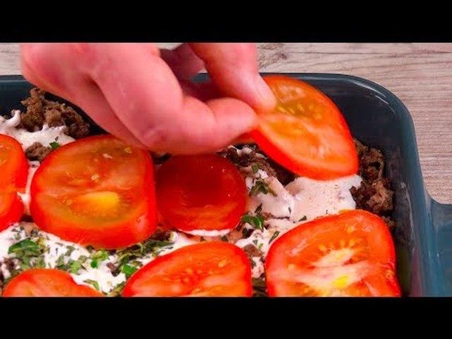 Caçarola de batata e carne moída: receita rápida e com apenas um punhado de ingredientes!