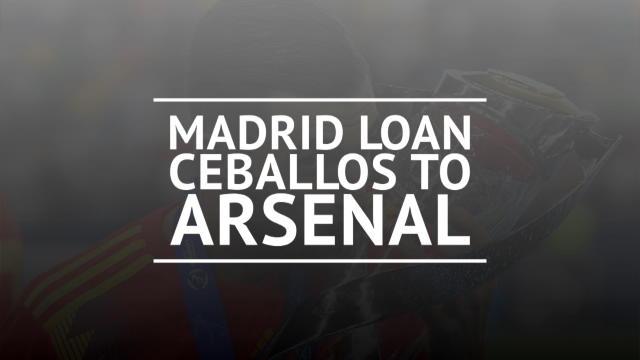 BREAKING NEWS: Football: Madrid loan Ceballos to Arsenal
