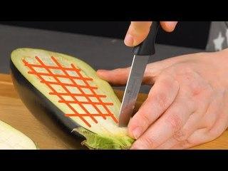 É por isso que ele corta esse vegetal dessa maneira. O prato fica simplesmente divino.