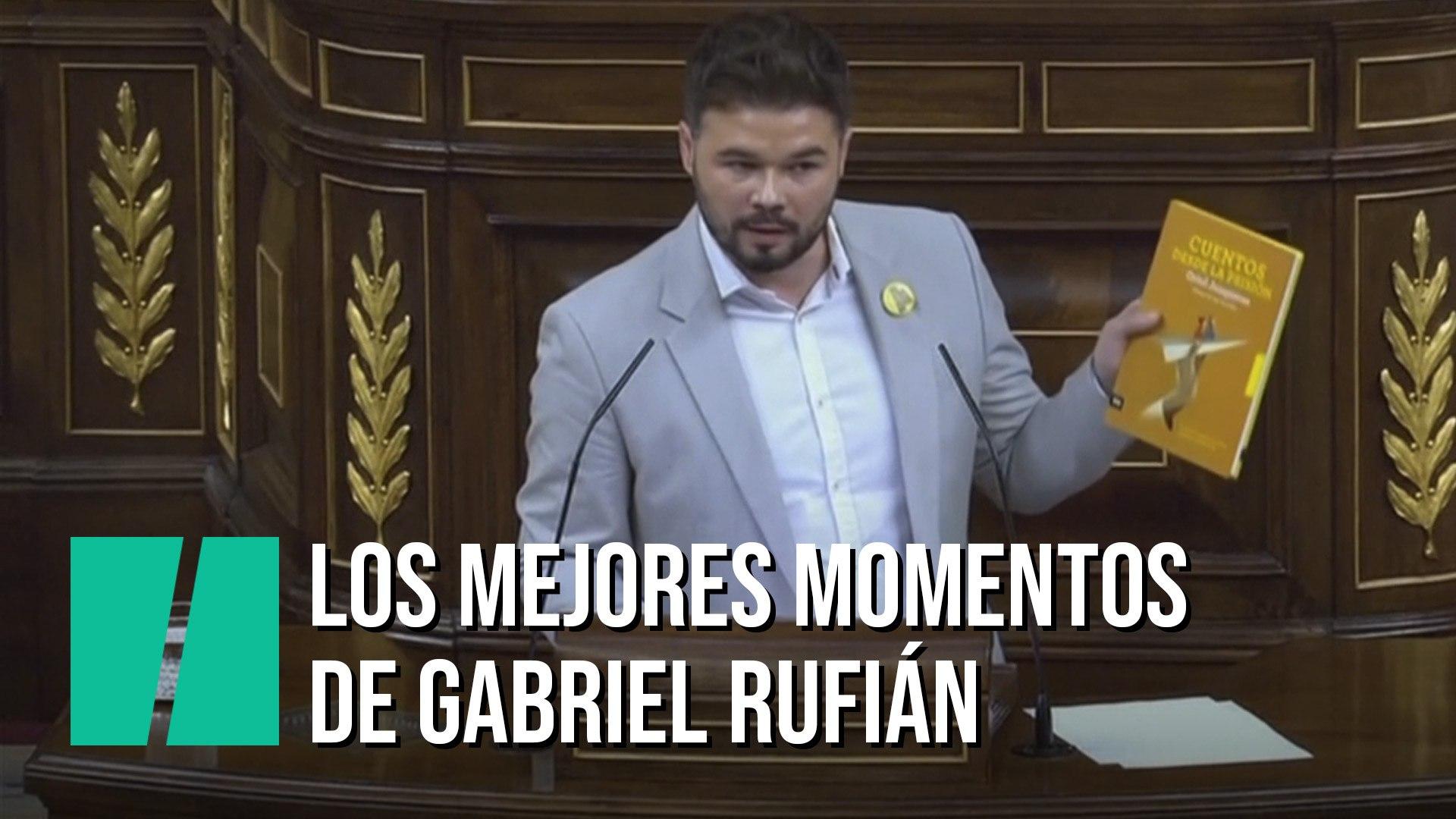 Las Mejores Frases De Gabriel Rufián Durante La Sesión De Investidura