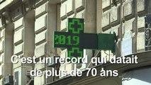Paris bat son record absolu de chaleur avec plus de 42°C