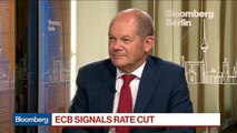 German Finance Minister Says 'We Are Not' in a Crisis