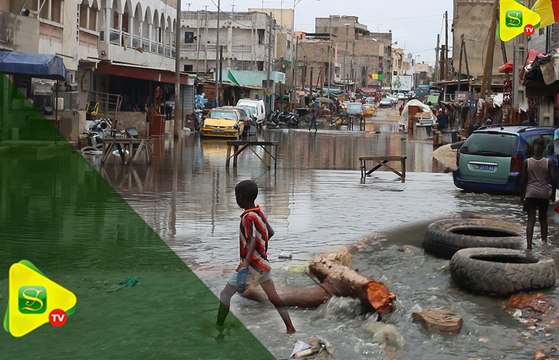 Les dégâts de la première pluie à Dakar!