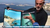 """Marseille : une affiche choc pour dissuader les """"plongeurs de la Corniche"""""""