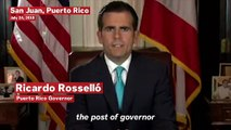 Puerto Rico Governor Ricardo Rosselló Resigns Amid Mass Protests