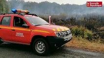 VIDÉO. Cinq hectares brûlés en forêt du Poinçonnet