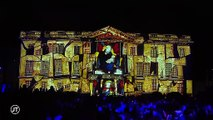 Animation estivale : la façade du musée des beaux arts de Tours s'anime tous les soirs