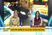 Lima 2019: caos vehicular por cierre de alrededores del Estadio Nacional
