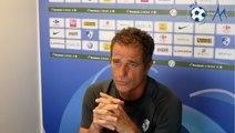Philippe Hinschberger avant Guingamp - GF38 : on veut participer à la fête