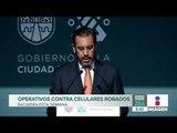 Inician operativos en tianguis de CDMX contra celulares robados | Noticias con Francisco Zea