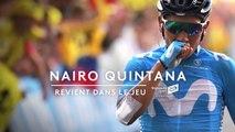 Tour de France : Nairo Quintana revient dans le jeu