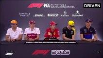 F1 2019 German GP - Thursday (Drivers) Press Conference
