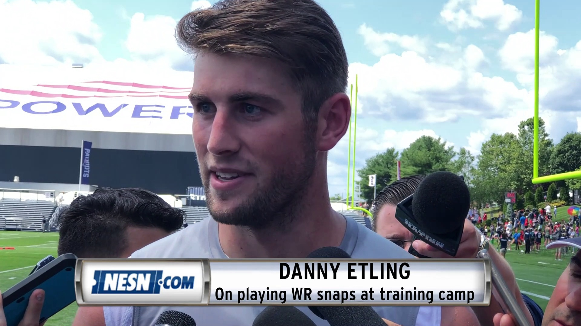 Quarterback Danny Etling Switches Positions To Find Role With Patriots