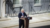 New British PM Uses American Slogan First Speech As PM
