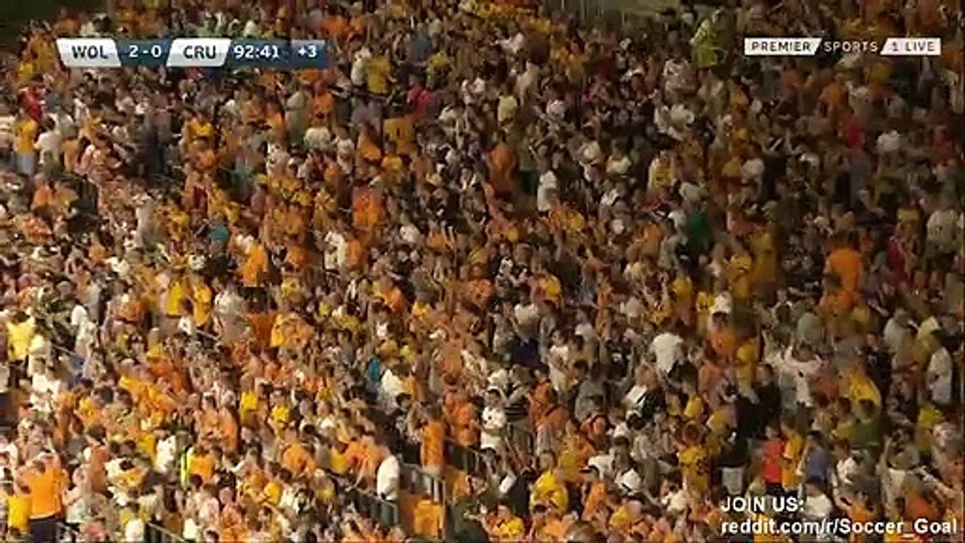 Ruben Vinagre Goal HD - Wolves 2 - 0 Crusaders - 25.07.2019 (Full Replay)