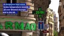 Paris Records Its Hottest Day Ever