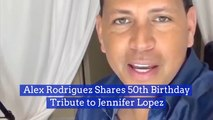 A Rod Gives Jennifer Lopez A Happy Birthday Love Video