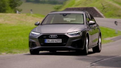 Audi A4 Avant TDI in Terra Grey Driving Video - video