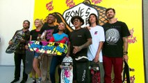 Mario Lopez, Disney's Navia Robinson and Skate Greats Kick Off Huntington Beach Pop-Up Skatepark