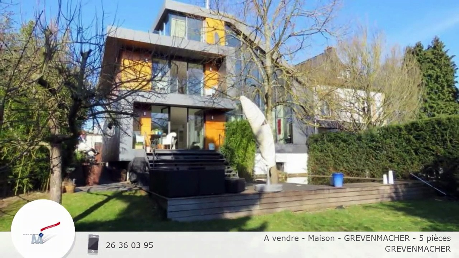 A vendre - Maison - GREVENMACHER - 5 pièces