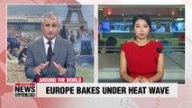 Europe melts under Sahara heat wave, smashes heat records